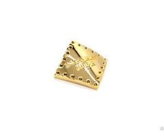 Real Gold Plating Label