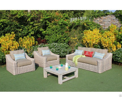 Wicker Patio Conversation Set Atc Furniture