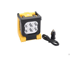12w Rechargeable Handheld Led Spotlight