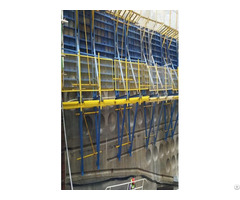 Hydraulic Climbing Formwork System For Massive Concrete Building Construction