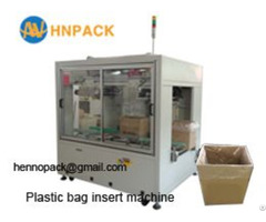 Hennopack Automatic Cartoning Bag Inserting Machine