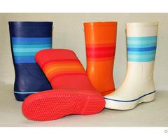 Rain Boots Handmade Of Natural Rubber Fashion