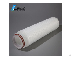 Micro Glass Fiber Pleated Filter Cartridges