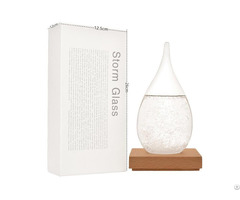 Storm Glass Weather Forecast Predictor Bottle
