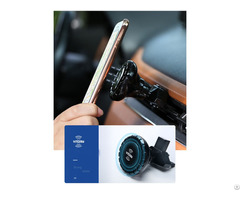 New Car Mount Vacuum Sucker Wireless Charger 360 Rotate Qi Charging Phone Holder