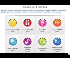 High Quality Plastic Card Printing