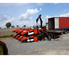 Corn Harvester Machines Are Delivered To Nigeria