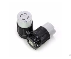 Nemal14 30 American Locking Rewirable Female Connector 30a 125 250v Bl1430c