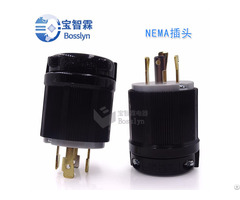 Nema L14 30 Us Male Twist Lock Locking Plug 30a 125v 250v Bl1430p