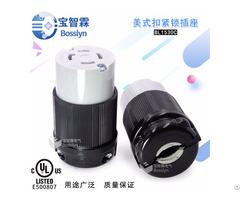 Nemal15 30 American Locking Rewirable Female Nema Connector 30a 250v Bl1530c