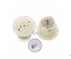 Nemal21 30 American Female Locking Flanged Outlet Power Receptacle 30a 120 208v Bl2130fo