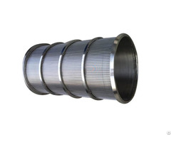 Rotating Wedge Wire Juice Cylinder Rotary Drum Screen