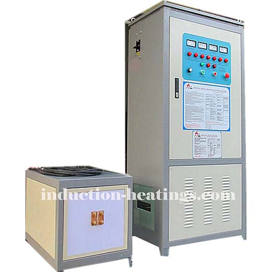 200kw Medium Frequency Steel Plate Induction Heating Machine