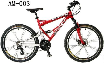 26 Inch Wheels Men S Dual Suspension Mountain Bike