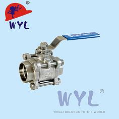 Ball Valve A With Spherical Disc