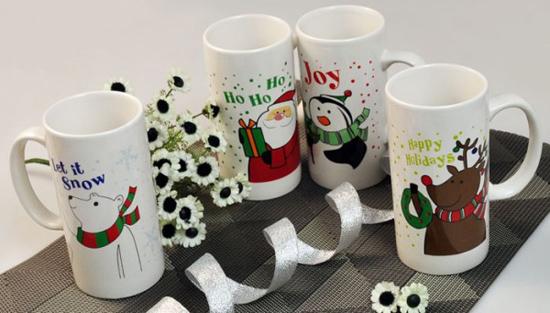 Ceramic Mug Promotion Gift Happy Holidays