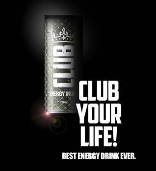 Club Energy Drink Premium Affordable