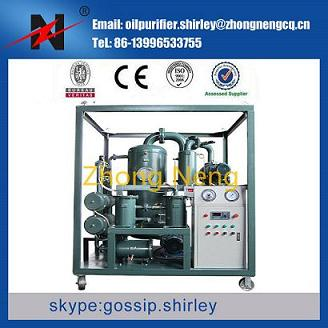 Double Stage Vacuum Oil Purifier Purification Filtration