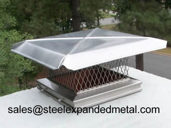 Expanded Metal Chimney Caps