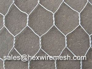 Galvanized Hexagonal Mesh With Good Corrosion Resistance