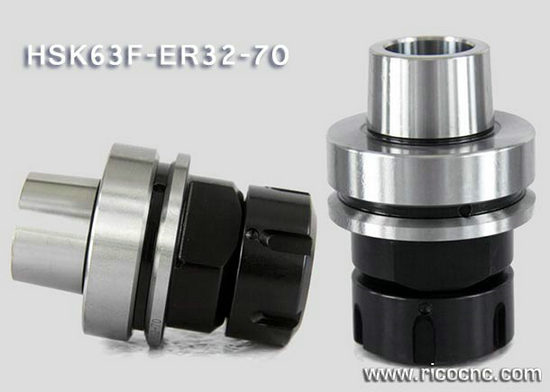 Hsk 63f Cnc Collet Chuks Holders For Tool Changer