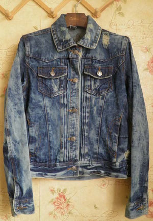 Latest Denim Jeans Jackets For Women