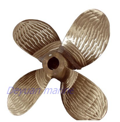 Marine 4 Blade Fixed Pitch Propeller Liners Powered Research