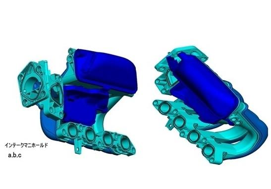 Plastic Injection Mold Automotive Moled Parts Intake Manifold