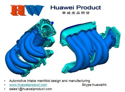 Plastic Injection Mold Automotive Parts Intake Manifold