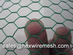 Pvc Coated Hexagonal Wire Mesh Used For Fence Or Gabion