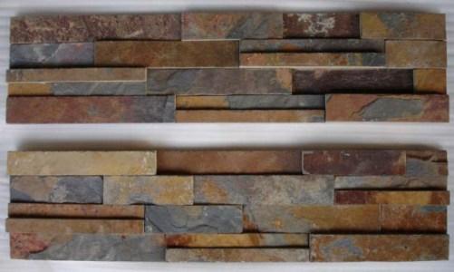 Rusty Slate Stone Panel