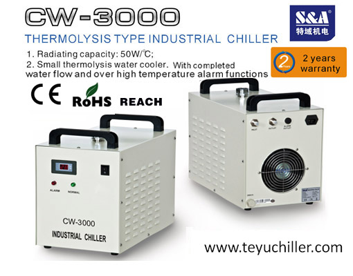 S A Water Cooled Chiller For Lamp Uv Led Of Digital Printer