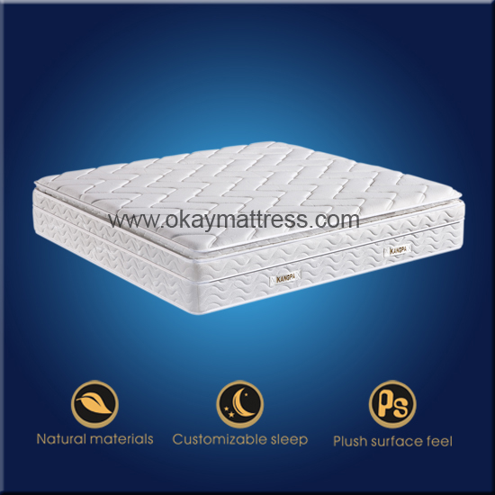 Spring And Memory Foam Mattress