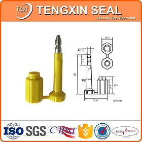 Tampering Proof Container Bolt Seal