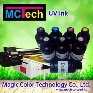 Uv Curable Ink For Flat Slab Inkjet Digital Printers