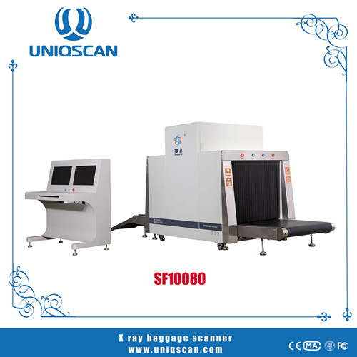 X Ray Baggage Scanner Machine With International Standard And Sensitivity Sf10080