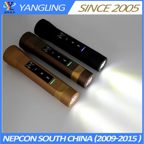 Yangling Smart Speaker Bluetooth Sos Flashlight Battery Charge With Music Function