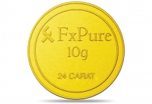 Fx Pure 10gm Gold Coins