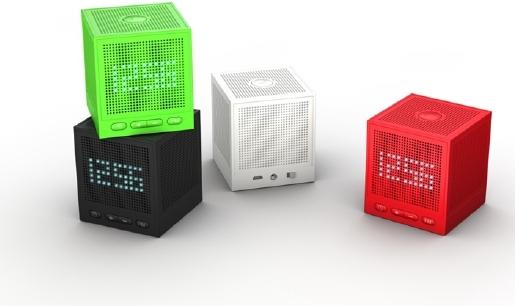 Bluetooth Speaker 3 0 With Fm Radio Alarm Clock Twnt Bsk11b