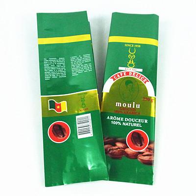 Green Printed 250g Coffee Packaging Bag