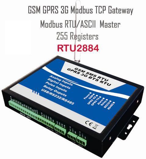 Gsm 3g Modbus Rtu 255 Registers