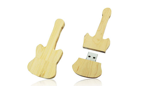 Guitar Wood Usb 1 64gb