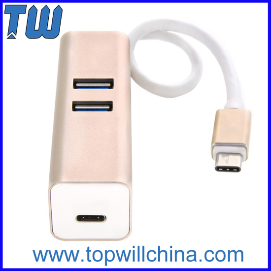Usb Type C To 2 Ports 3 0 And 1 Port Hub
