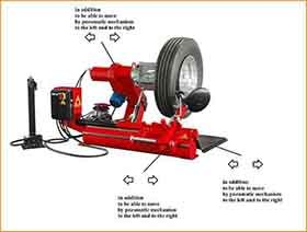 Automatic Truck Tire Changer For Sale Ce Tc990a