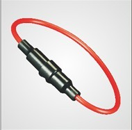 Automotive Fuse Holder With Impact And Fire Resistance Comes In Various Col