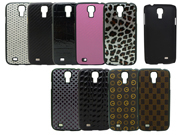 Rubberized Pc Mobile Phone Case With Pu Covered For Samsung S4 I9500