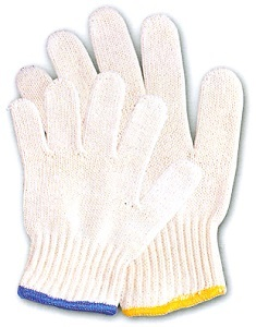Sell Cotton Knitted Hand Gloves Superching