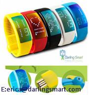 Smart Wristband Personalized Signature 3d Pedometer Sensor Step Walking Dis