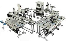 Zm11fms Flexible Manufacture Equipment With 11 Stations Training