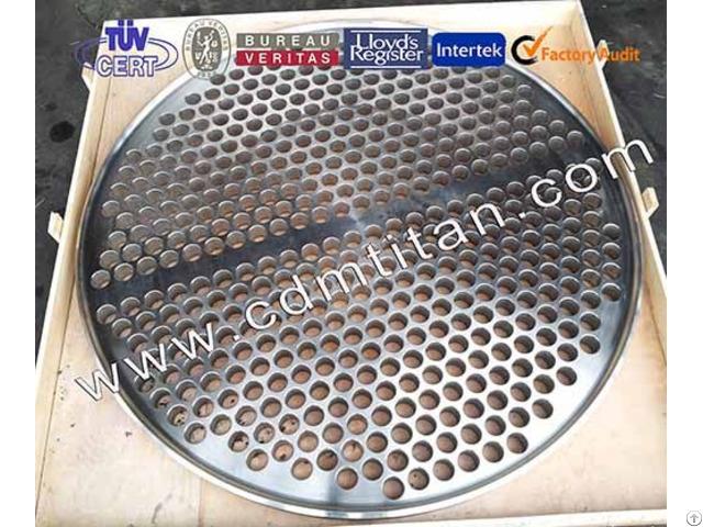 Cdm Titanium Clad Steel Tube Sheet Plate